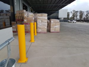 EV304 Verge bollard. Medline warehouse office (3)