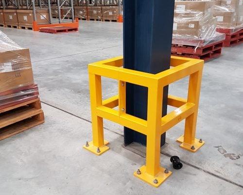 EV310 Verge safety barriers. Verge Column protection. asset and building protection. forklift safety MEDLINE. prevents damage (2)