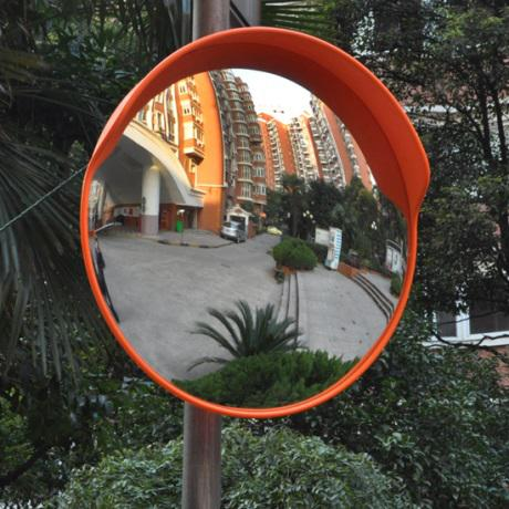 External dome mirror