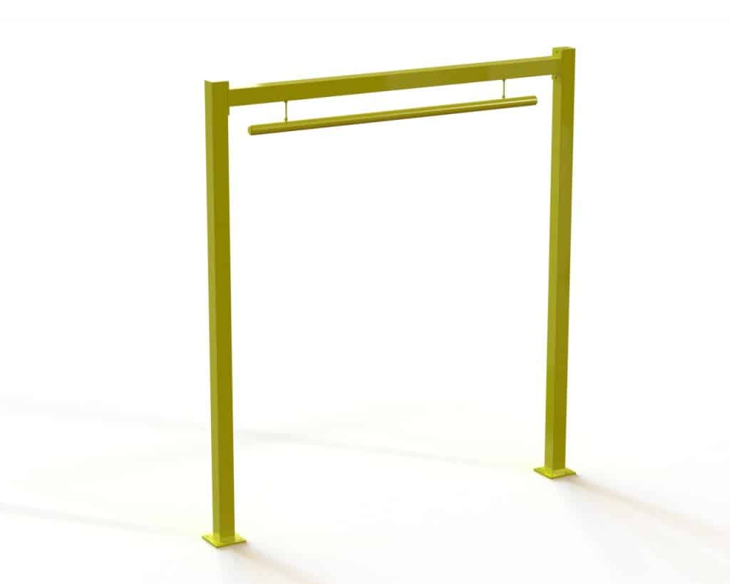 Overhead Door Protection : Overhead door protector verge safety barriers melrose