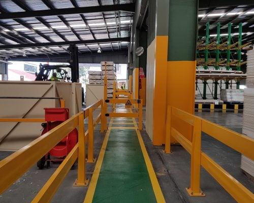 USG Boral - Verge Safety Barrier. Verge Vivid gate