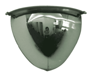 The Right Placement for Dome Safety Mirrors -