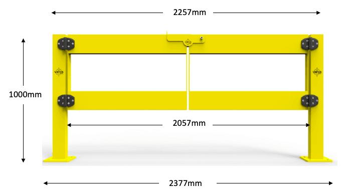 BV053 dimensions
