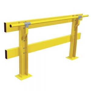 Verge Safety Barriers HD Series with Handrail back