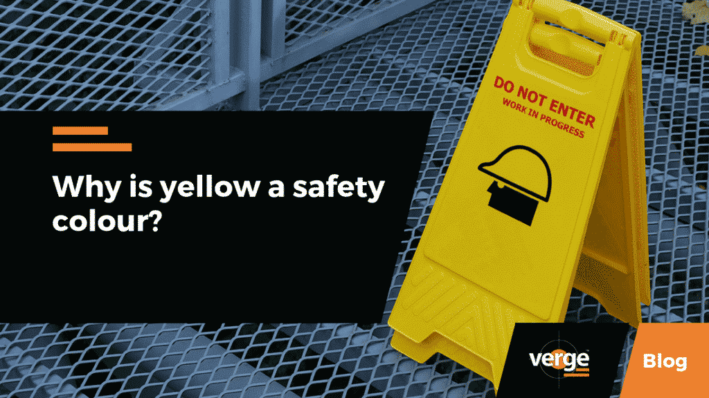 Why is Yellow a Safety Colour?
