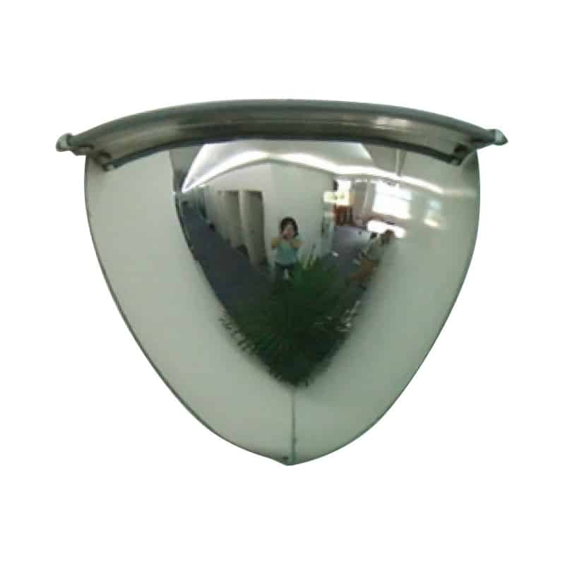 FV420 - Verge 1/4 Dome Mirror 1000mm (90°) - Verge Safety Barriers