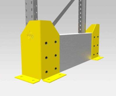 FV452 – Verge Rack-Pro Pallet Rack End Protector™ Single