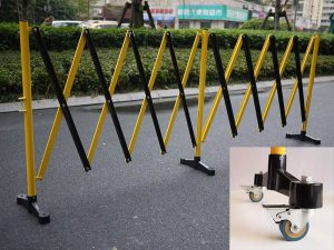 GV512 – 5M Expandable Barrier with Castors