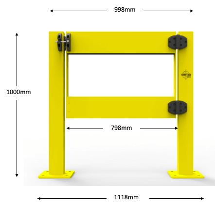 BV055 dimensions
