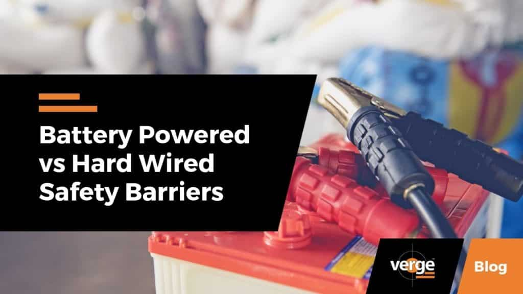 Battery-Powered vs. Hard-Wired Safety Barriers