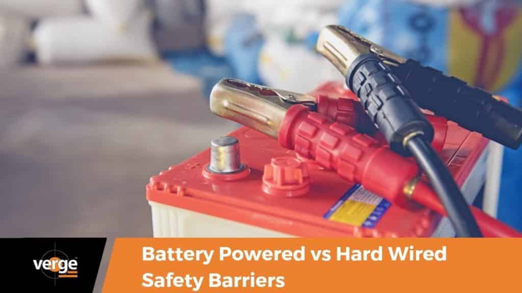 Battery-Powered vs. Hard-Wired Safety Barriers 1