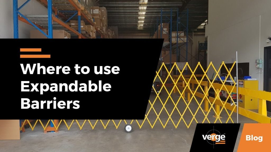 Where to Use Expandable Barriers