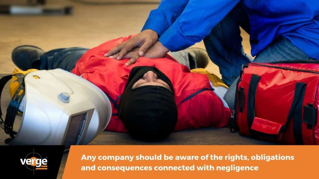 Negligence in the Workplace: Consequences, Rights, and Obligations 1