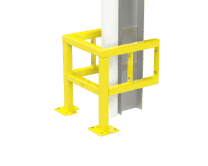 column protection loading dock safety