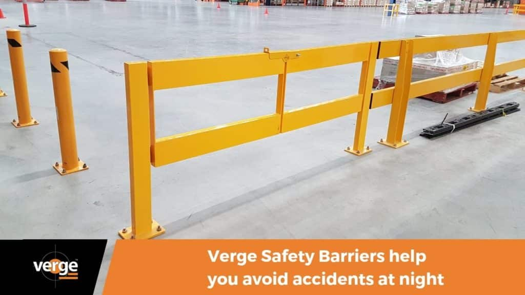 Staying Safe at Night with Safety Barriers 2