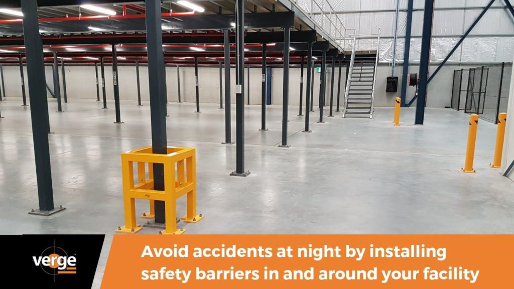 Staying Safe at Night with Safety Barriers 1