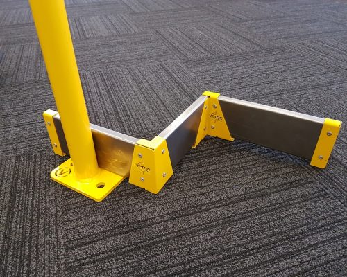 safety barriers bollards kickplate