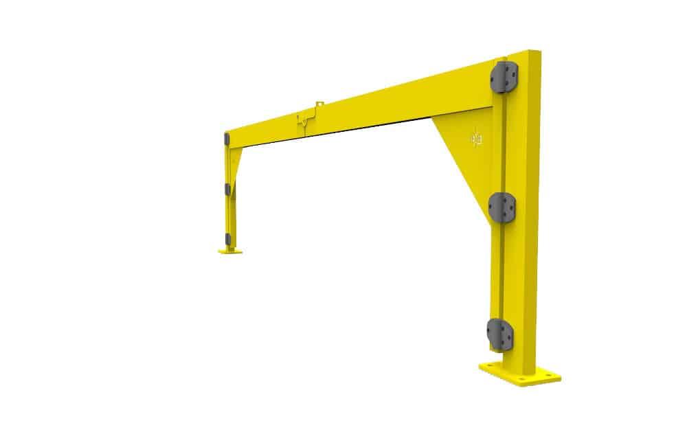 swinging gate safety, V-Swing Boom