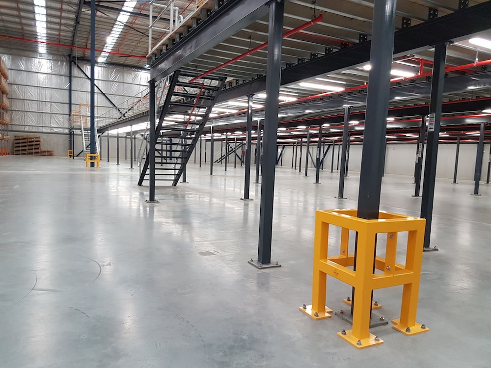 safety barriers column protection