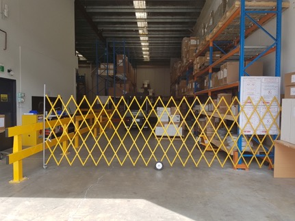 GV504 5-metre Industrial Expandable Barrier
