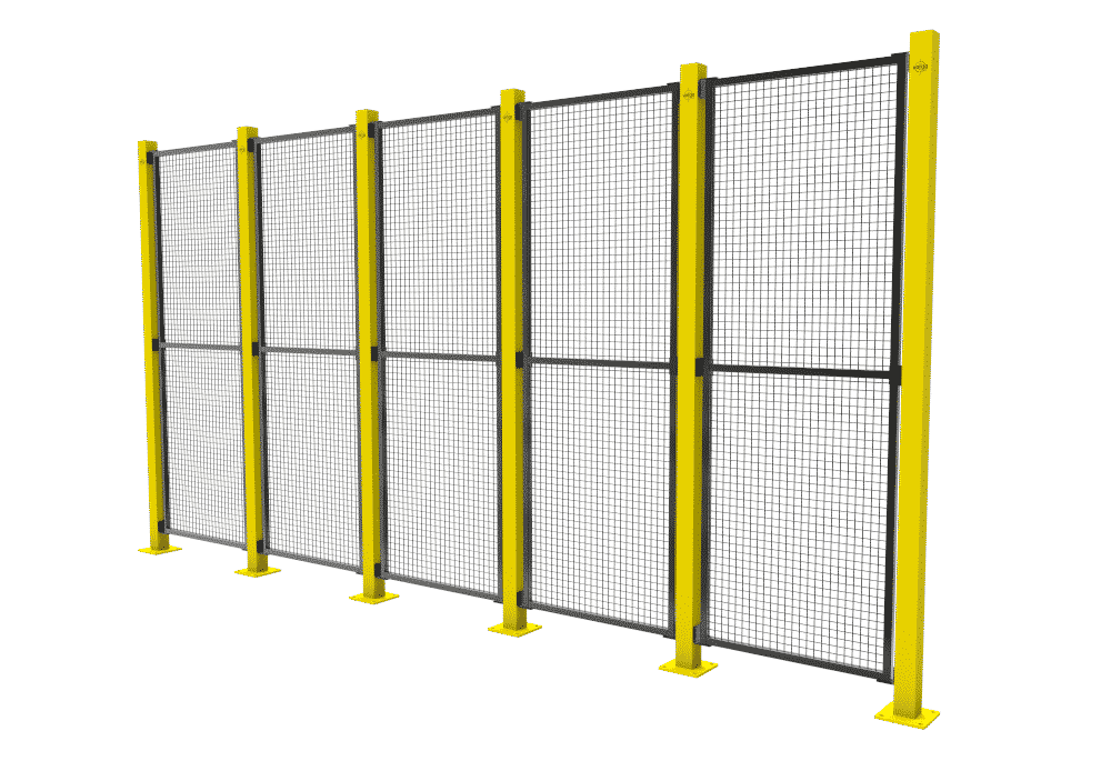 mesh fence safety