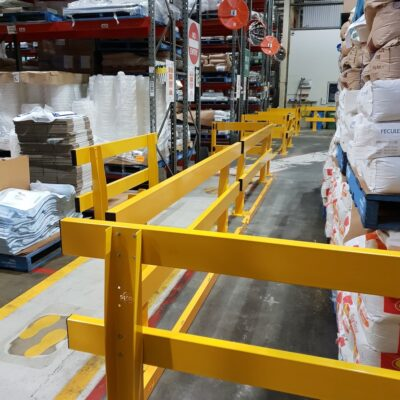 pedestrian safety for warehouse