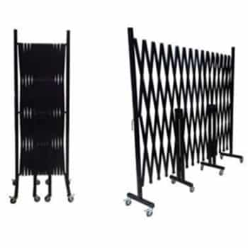 GV507 – Black Expandable Barrier