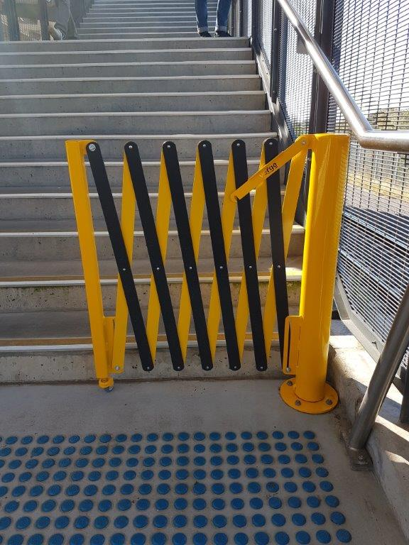 GV523- Rotating Expandable Barrier 1