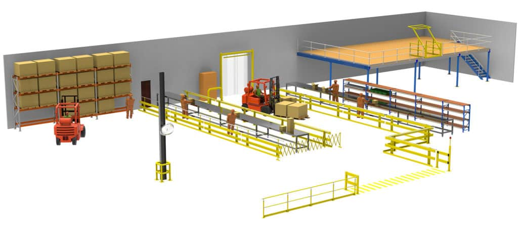 safety barriers, forklift safety barriers, warehouse safety barriers, verge safety barriers