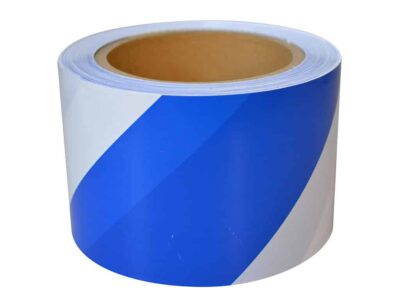 JV013 Verge Blue and White Barricade Tape