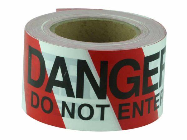 Verge DANGER DO NOT ENTER Black on Red/White