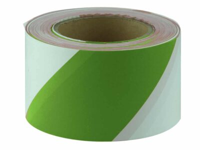 JV014 Verge Green and White Barricade Tape