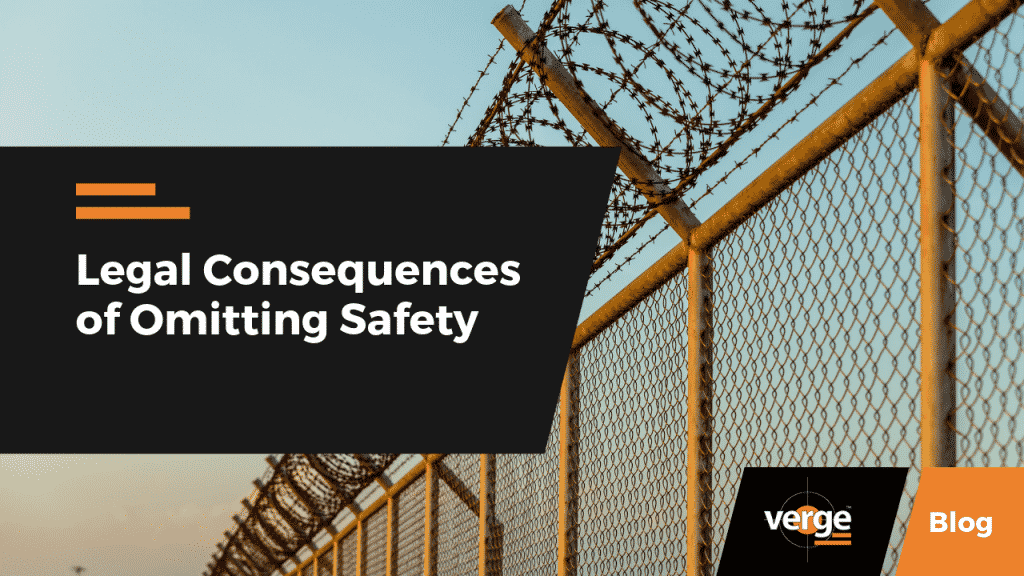 LegalConsequences of Omitting Safety