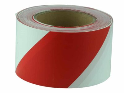 JV011 Verge Red and White Barricade Tape