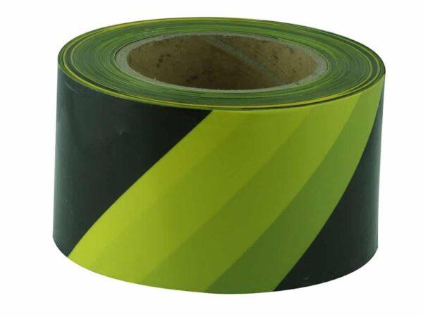Verge Yellow & Black Barricade Tape