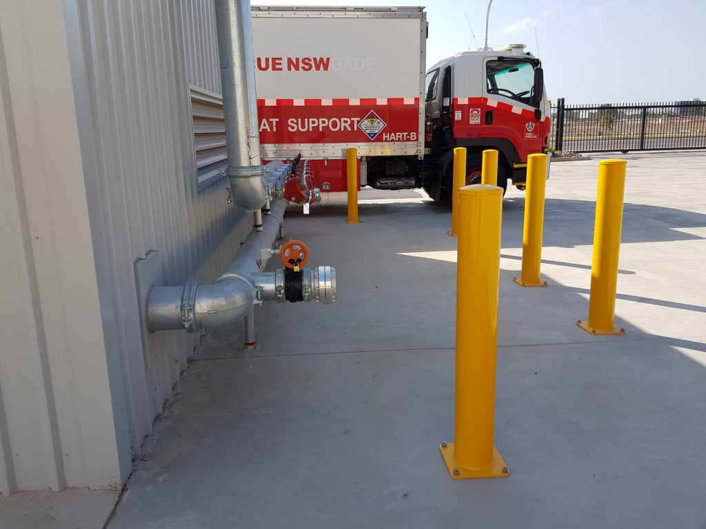 verge safety barriers bollards sydney