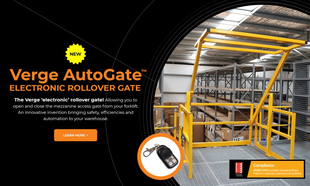 Verge Electric Rollover Gate