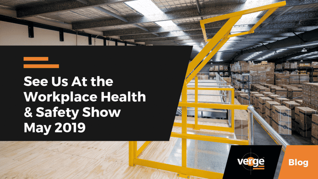 See Us At the Workplace Health & Safety Show May 2019