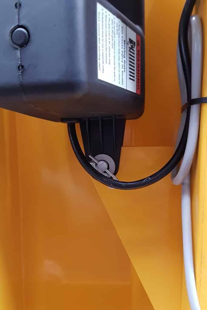motor of verge autogate