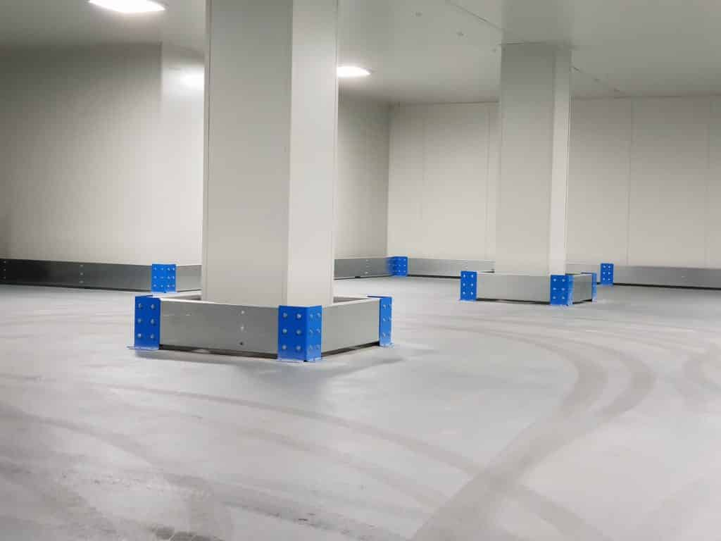 verge safety barriers wall pro coolroom sydney
