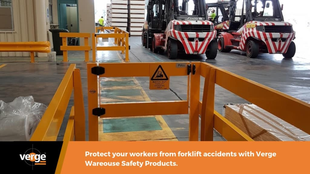 prevent warehouse accidents using Verge Safety Products