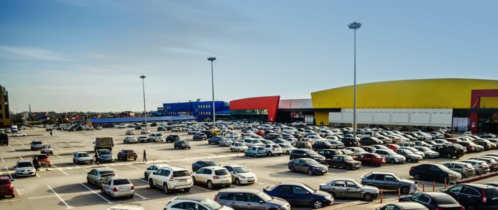 supermarket parking lot safety