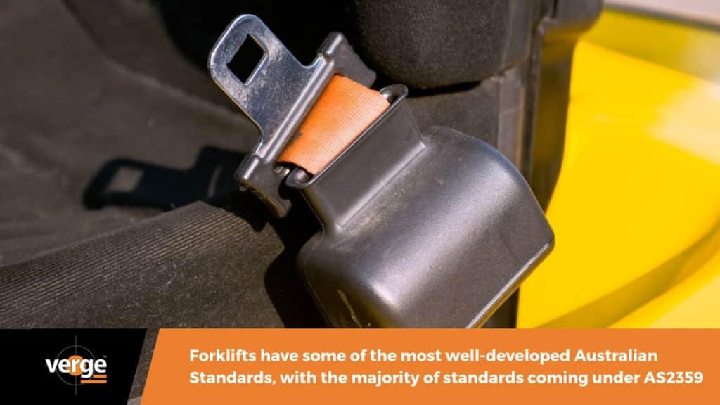 australian forklift safety standard