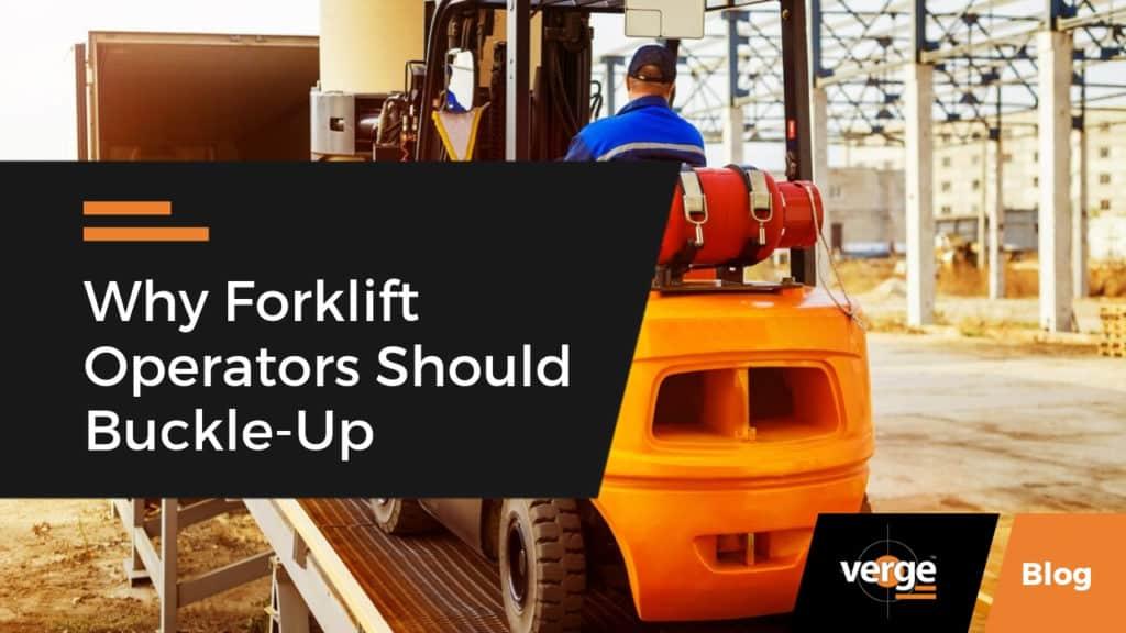 forklift drivers should buckle up