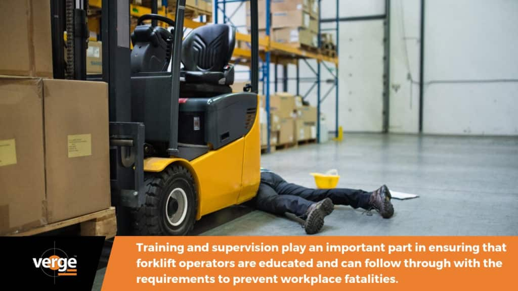 will you terminate a forklift operator who failed to wear his seatbelt