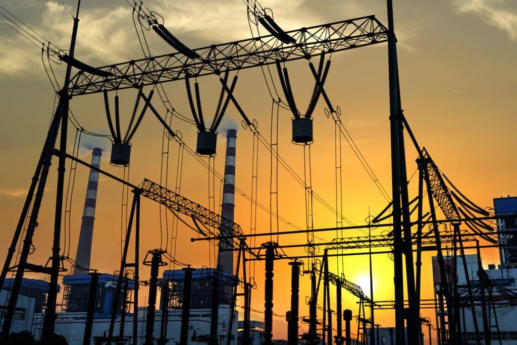 verge power station safety barrier