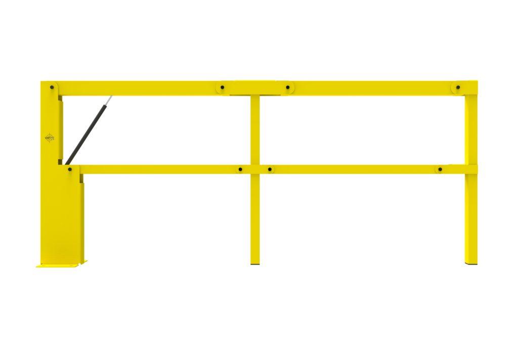 BIFOLD FR2 - Warehouse safety barriers, forklift safety barriers, mezzanine pallet gates