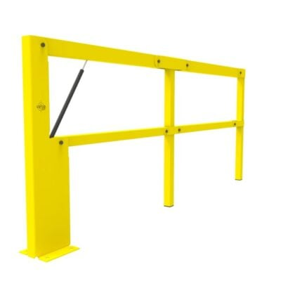 BIFOLD ISO1 - Warehouse safety barriers, forklift safety barriers, mezzanine pallet gates