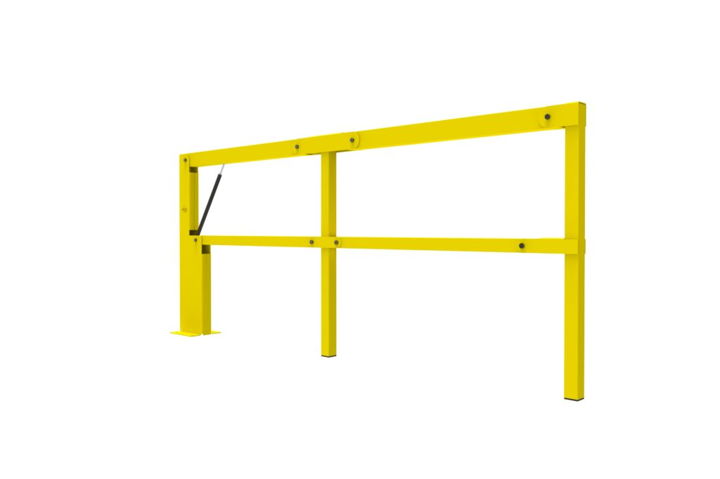 BIFOLD ISO2 - Warehouse safety barriers, forklift safety barriers, mezzanine pallet gates