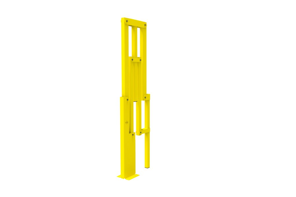 BIFOLD ISO3 - Warehouse safety barriers, forklift safety barriers, mezzanine pallet gates